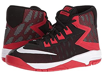 0828563f34e7 Image Unavailable. Image not available for. Color  Nike Kids Air Devosion  Little Kid Black University Red White ...