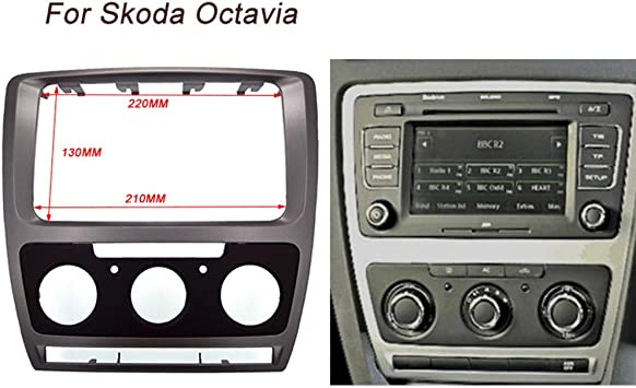Ct Carid Radioblende Für Sko Daoctavia Manual A C 2010 2013 Auto