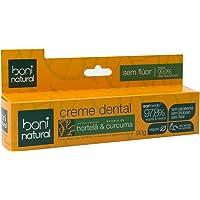 Creme Dental Boni Natural Ação Anti-inflamatória Hortelã e Cúrcuma, Boni Natural