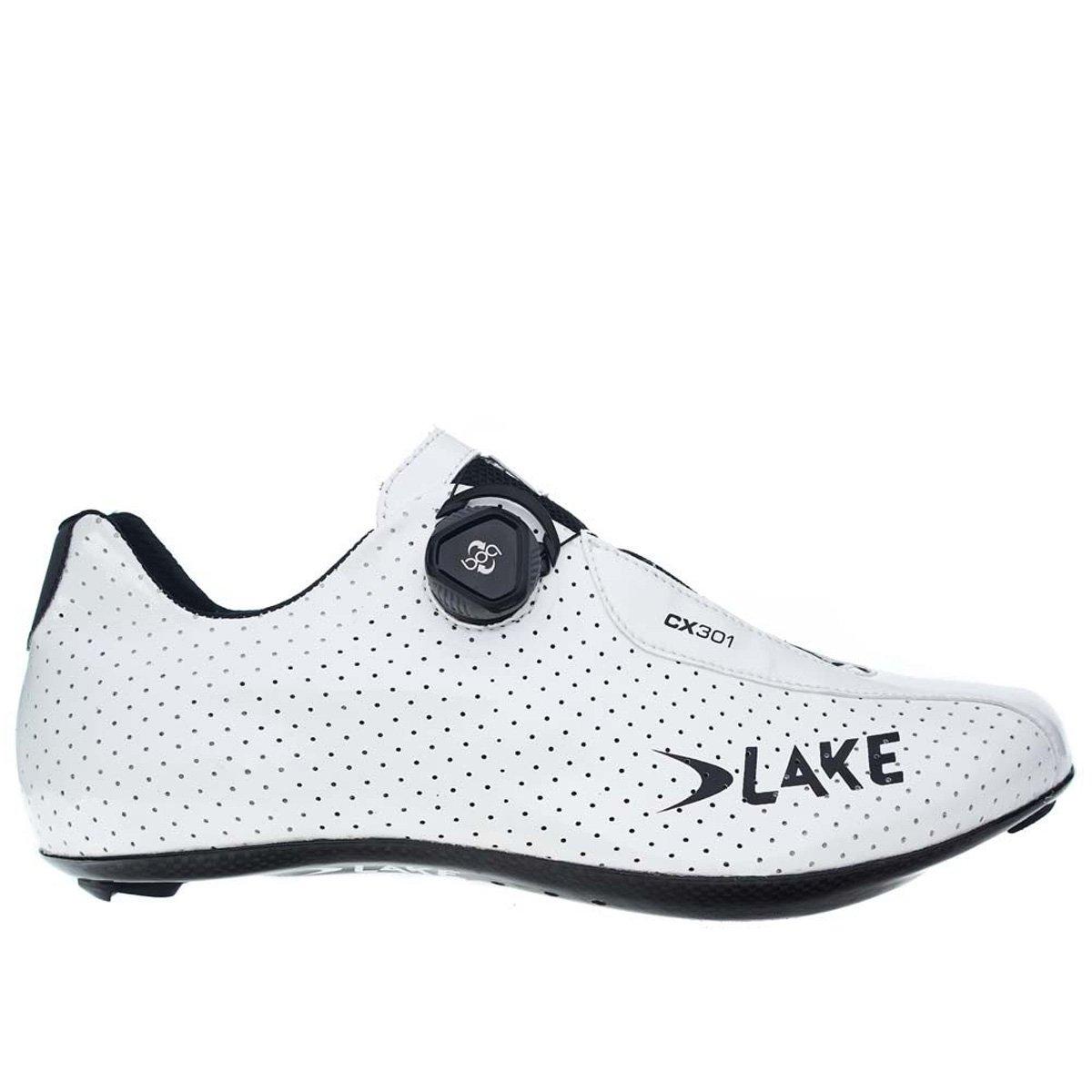 湖Cycling 2017メンズcx301 Road Cycling Shoe – ホワイト 43.5 ホワイト B06WGQ8F44