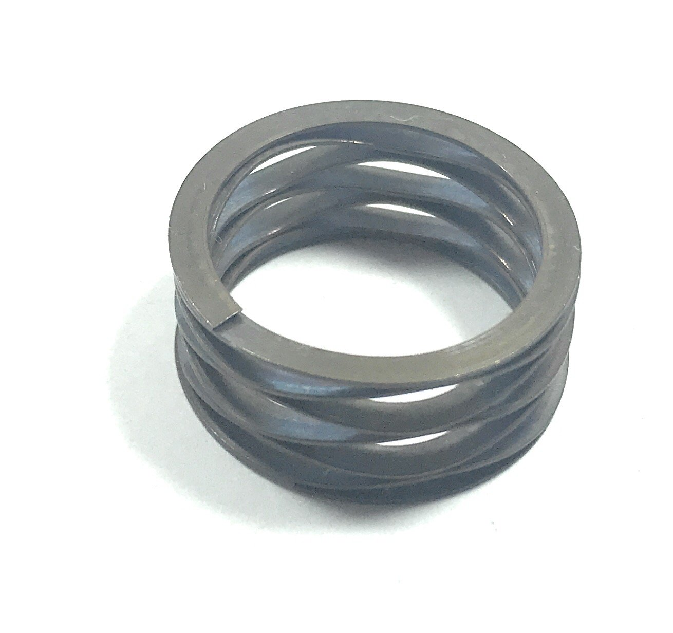 Multiwave Washers with Shim Ends,inch, 0.73'' ID, 1'' OD, 0.015'' Thick, 0.094'' Material Radial Wall,132lbs/in Spring Rate, 25lbs Load Capacity@Spring height0.227'',Free height0.417'' (Pack of 5)