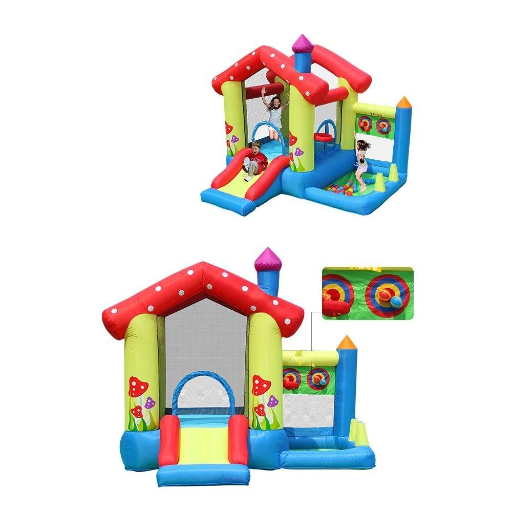 DorisAA-Toys Castillo Hinchable Inflable Casa Inflable Castillo ...