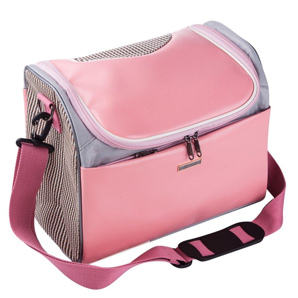342026cm LWY DHHFG® Pet packs, breathable fashion portable pet bag (Size   34  20  26cm)
