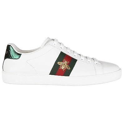 e2bb32ddda6 Gucci Women Sneakers Bianco 6 UK  Amazon.co.uk  Shoes   Bags