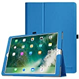 Fintie iPad Pro 12.9 Case - [Corner Protection] Premium PU Leather Folio Smart Protective Cover with Auto Sleep / Wake, Multi-Angle Viewing for iPad Pro 12.9 2nd Gen 2017 / 1st Gen 2015, Royal Blue