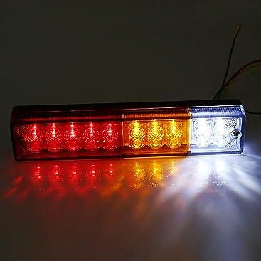 2x 20 LED Rückleuchten Rücklicht Auto Anhänger LKW Bremsen