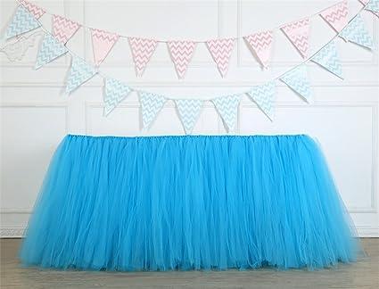 8acf4c5aa Funda para mesa, falda tutú de tul para decoración de fiestas de ...