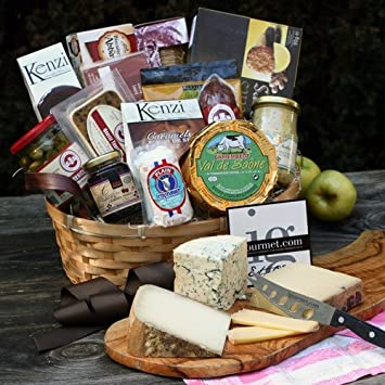Amazon.com : French Premier Gift Basket (9.9 pound) : Gourmet ...