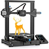 Creality Ender 3 V2 Upgrade 3D Printer with Meanwell Power Supply, Silent Motherboard, Carborundum Glass Platform and…