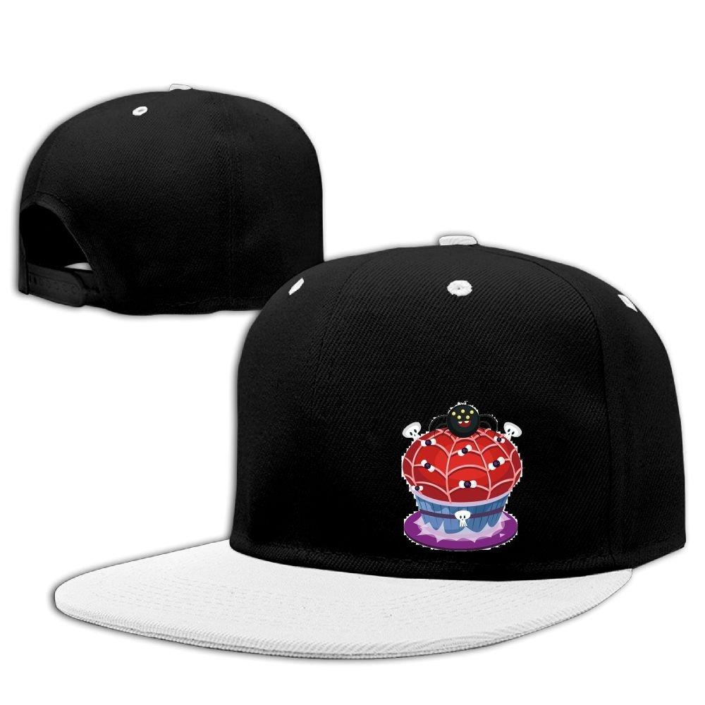 a38b5ad73da61 Plain Logo Baseball Cap Polo Safari Dad Hat Hip Hop Side Figure Quzim  Halloween Spider Skull Cake at Amazon Men s Clothing store