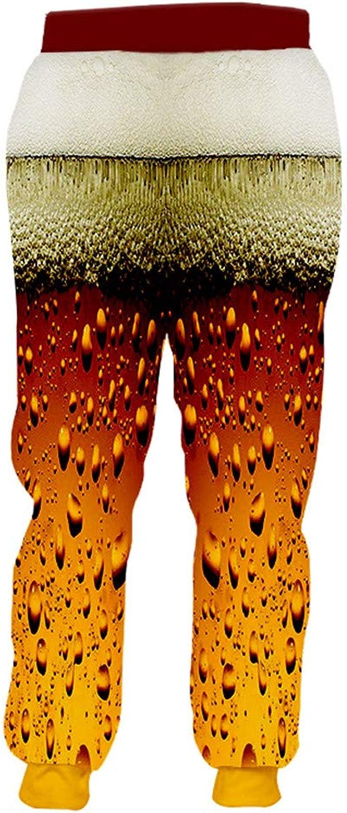 Pantalones chándal Masculinos Cintura elástica Gyms Impreso en 3D ...