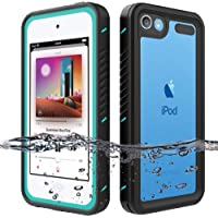 iPod Touch Waterproof Case for iPod Touch 7 Touch 6 Touch 5 Case, OWKEY Full Body Rugged Case Protection Built in Screen…