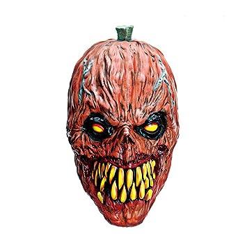 Circlefly Halloween Monstruo asqueroso Realista Campana Terror Thriller Mascara de Medio Ambiente