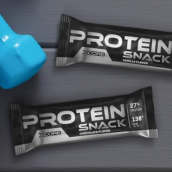 Xcore Protein Snack 35g Vainilla Suero Concentrado De Calidad ...