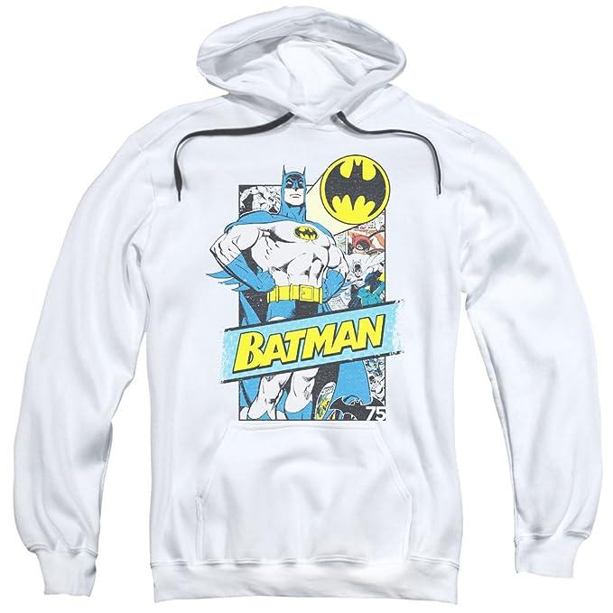 Batman - para hombre Out de las Páginas - Sudadera con Capucha para Mujer Blanco blanco: Amazon.es: Ropa y accesorios
