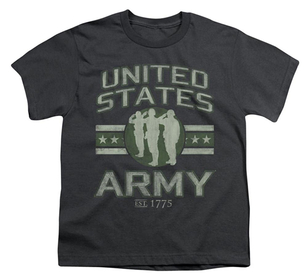 Grey Army United States Army Childs T-Shirt SM 8+yo.