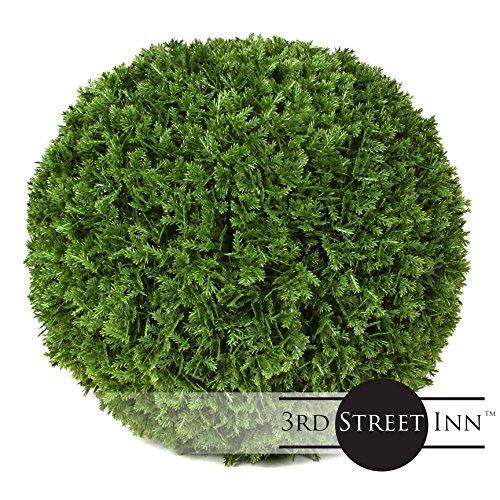 Large Foliage Plants (Cypress Topiary Ball - 7