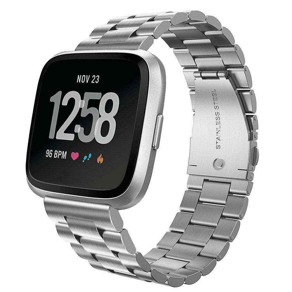 Malla De Reloj Fitbit Versa Sports Smartwatch