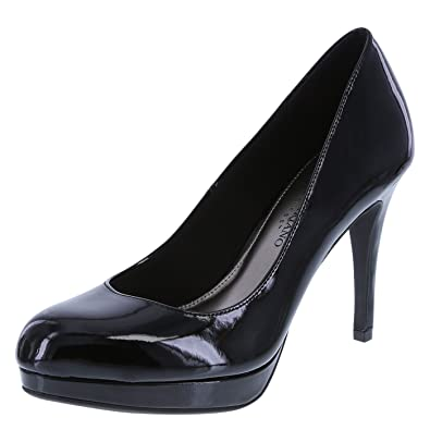 Amazon.com | Christian Siriano for Payless Women's Black Patent ...