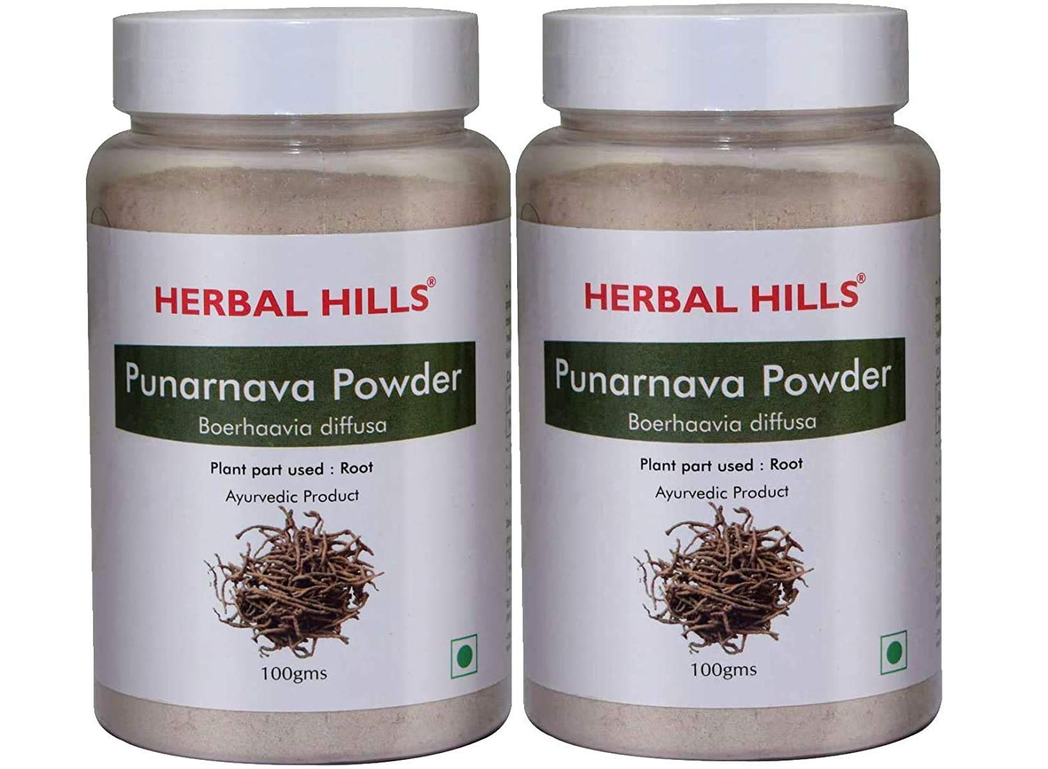 Herbal Hills Punarnava Powder 100g Each Pack Of 2 Boerhavia Diffusa Punarnava Root Powder Punarnava Urinary Wellness And Kidney Rejuvenation Amazon In Health Personal Care