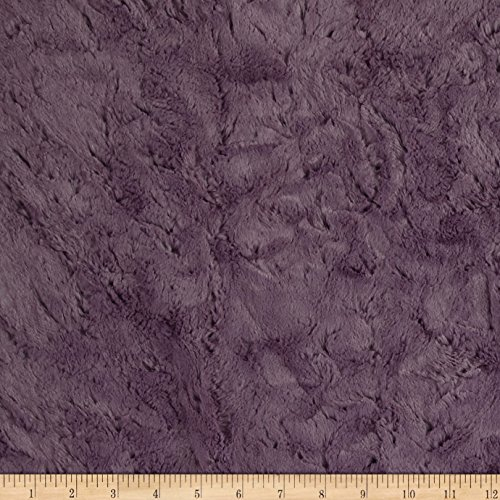 Grapemist (Shannon Minky Luxe Cuddle Marble Grapemist Fabric By The Yard)