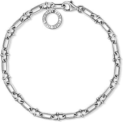 bracelet argent charm