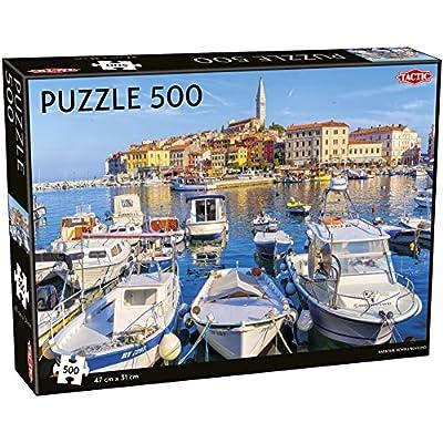 Tactic 55260 Marina Puzzle Da 500 Pezzi Multicolore