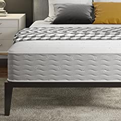 The Signature Sleep Contour 10 independently encased coil mattress is thoughtfully made with Low VOC, CertiPUR-US certified mattress foam that conforms to the curves of the body creating an equal weight distribution and relieving pressure alo...