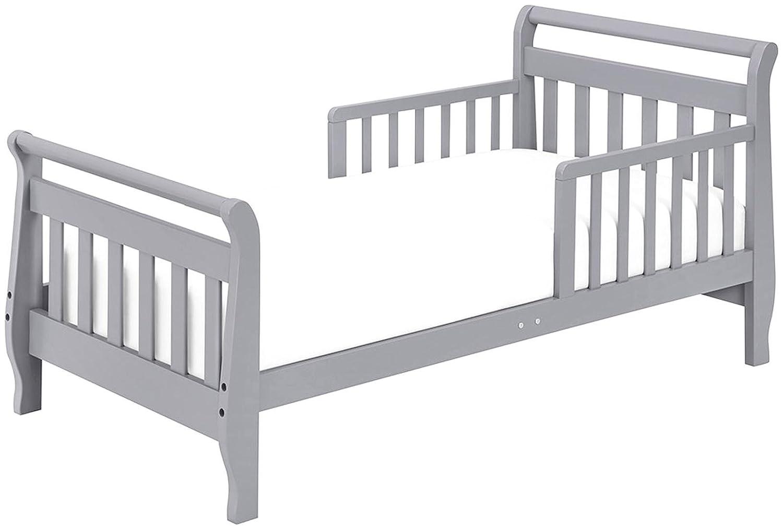 DaVinci Sleigh Toddler Bed, Grey M2990G