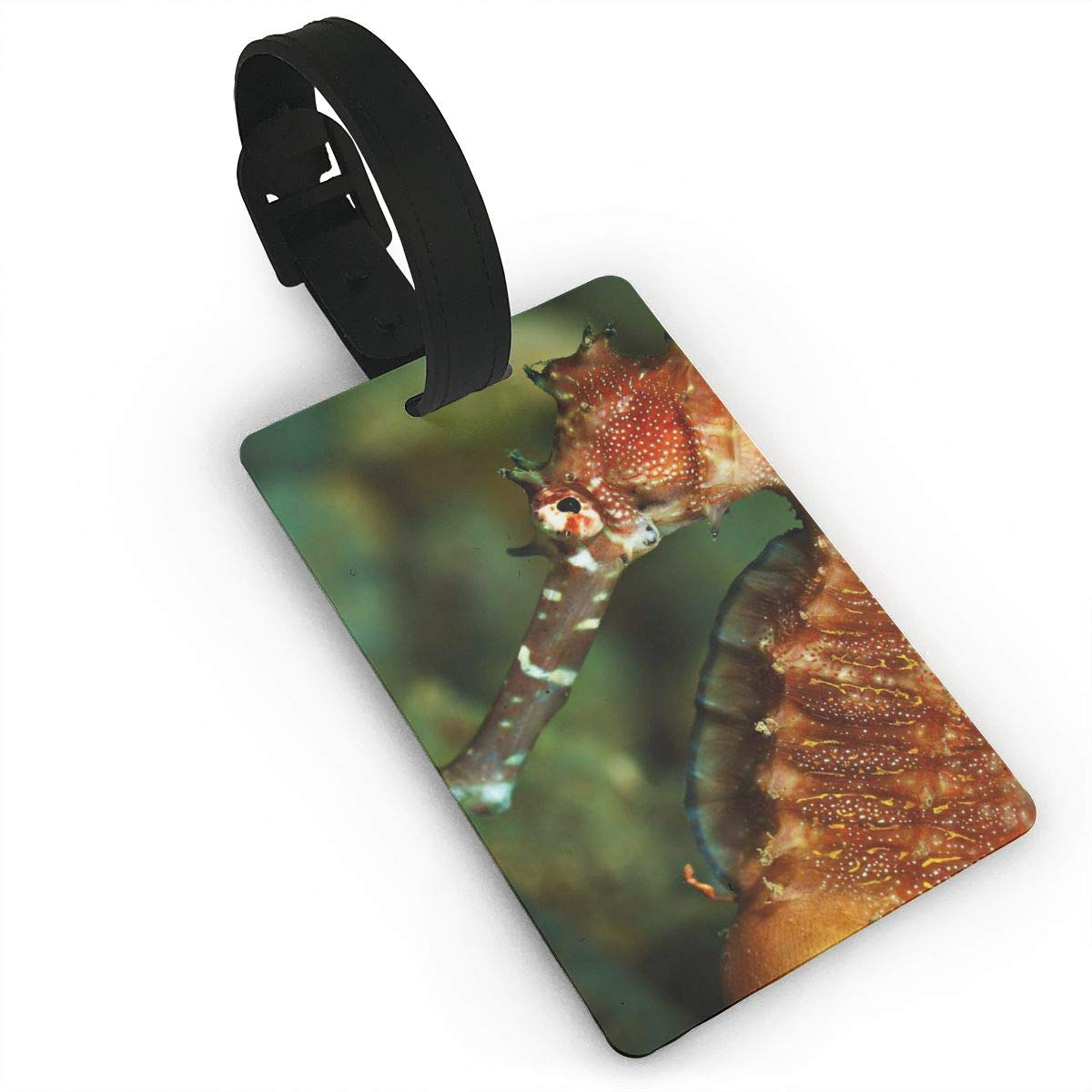 2 Pack Luggage Tags Sea Horse Cruise Luggage Tag For Suitcase Bag Accessories