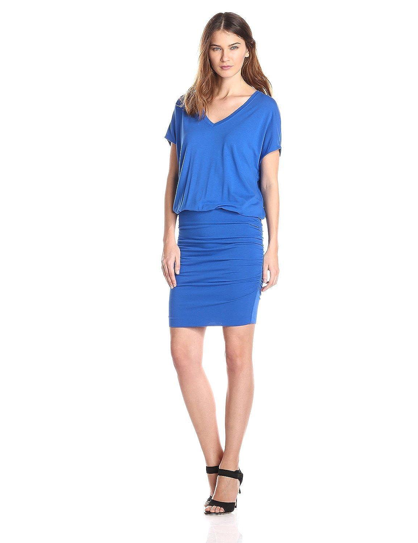 Metalopituy Women's Waist Pencil Dress Blue