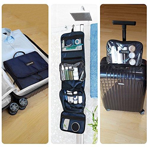 Jual TRAVANDO Hanging Toiletry Bag FLEXI  + 7 TSA Approved Liquid ... 59baeb1ac34bc