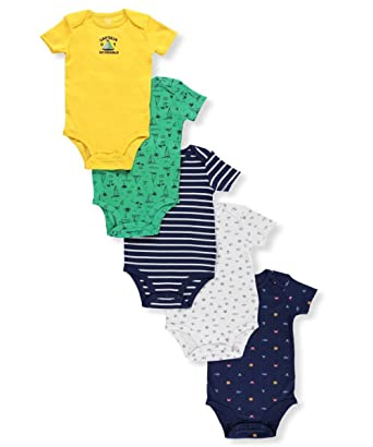 de89b9784 Amazon.com: Carter's Baby Boys' Multi-pk Bodysuits 126g402: Clothing