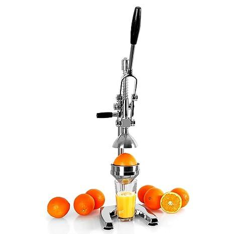 Exprimidor de naranjas manual palanca