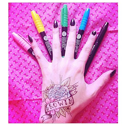 Temporary tattoo pen kit 36 piece set create your own for Tattoo pen kit