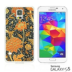 OnlineBestDigitalTM - Flower Pattern Hardback Case for Samsung Galaxy S5 - Floral Art