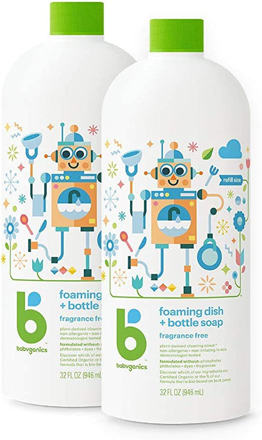 Babyganics Baby Bottle Cleaning Liquid