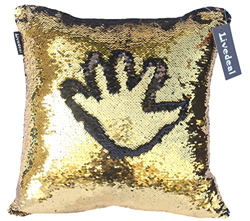 livedeal-reversible-sequins-mermaid-pillow-cases-40x40cm-gold-and-black