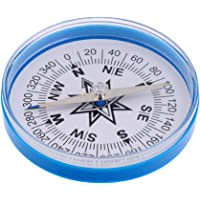 ShoppingLane Handheld Large Compass 4-Inch Dia. with a Clear Plastic Top