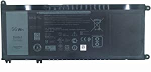 Hubei 33YDH PVHT1 0PVHT1 V1P4C DNCWSCB6106B Laptop Battery for Dell Inspiron 17 7778 7000 7773 7779 13 7353 7559 7570 7573 7577 Latitude 3590 3580 3480 Vostro 7580 P30E Series Tablet(15.2V 56Wh)