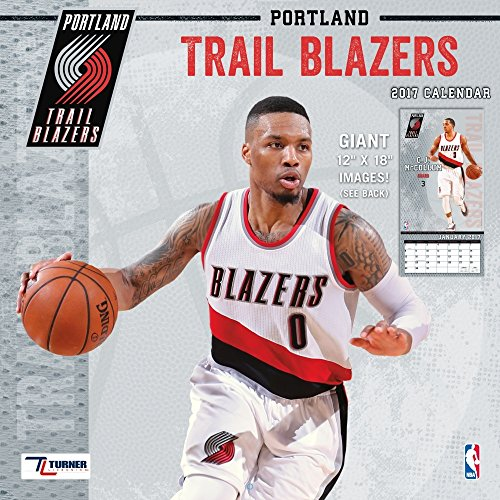 Team Trail (Turner Licensing Sport 2017 Portland Trail Blazers Team Wall Calendar, 12