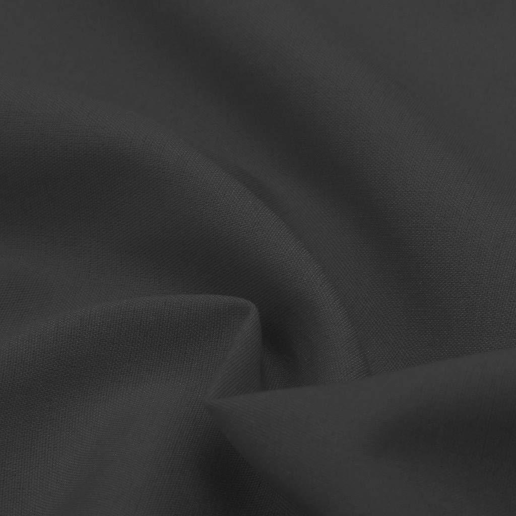 Blouses for Women Fashion 2019,YEZIJIN Women Summer Fashion Casual Camis Sleeveless Crop Ruffle Solid Bandage Tops Gray by Yezijin_Women's Wear (Image #7)