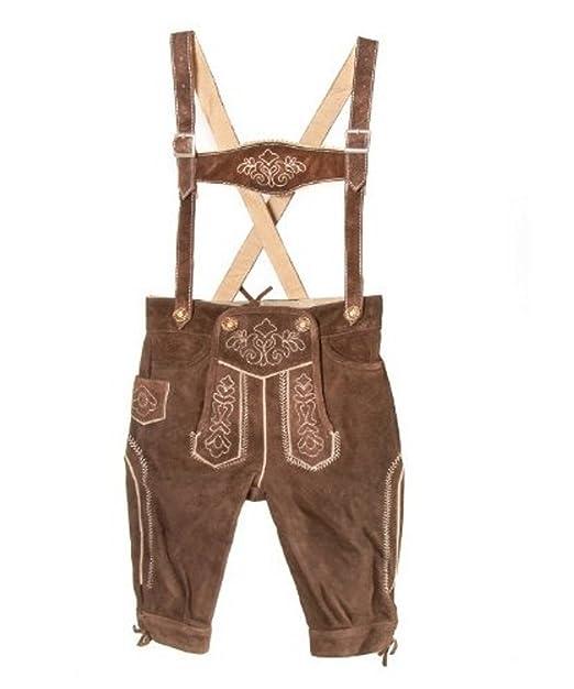 Isar-Trachten Joven Traje típico de niños de Piel Pantalones ...