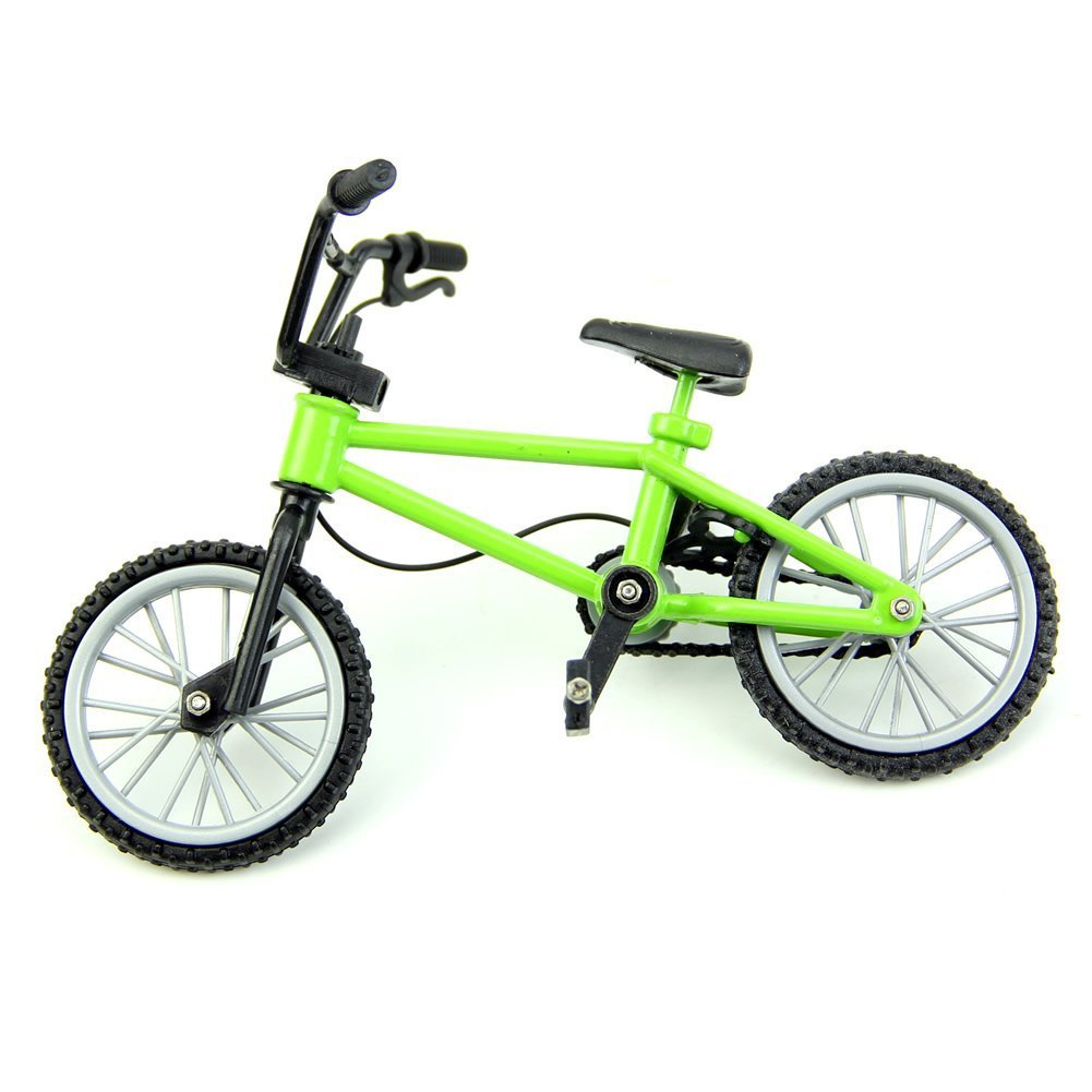 4PCS Finger Mountain Bike Mini Model Ornaments TOYMYTOY Finger Bikes BMX