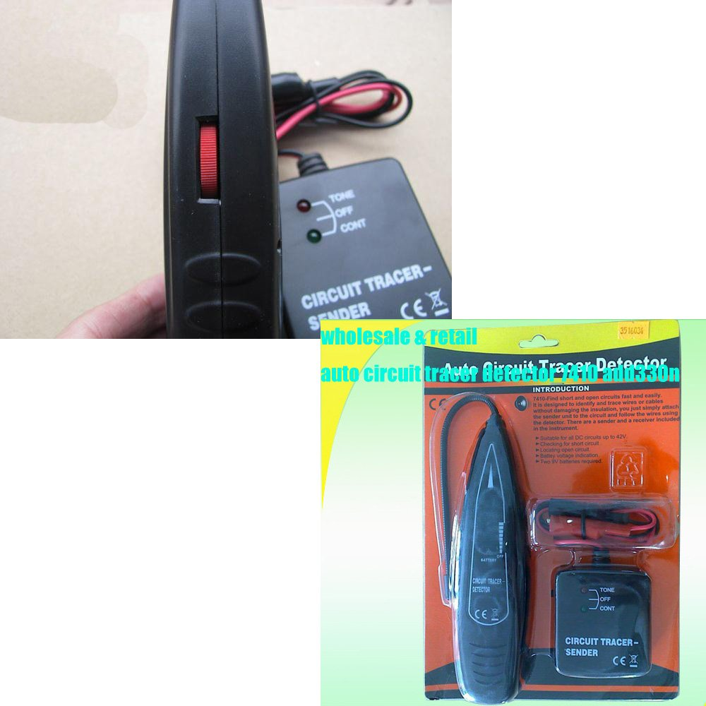 Eaglerich Automotive Open Circuit Detector Auto Short Remote Control Toy Car Transmitter Automotivecircuit Line Tester