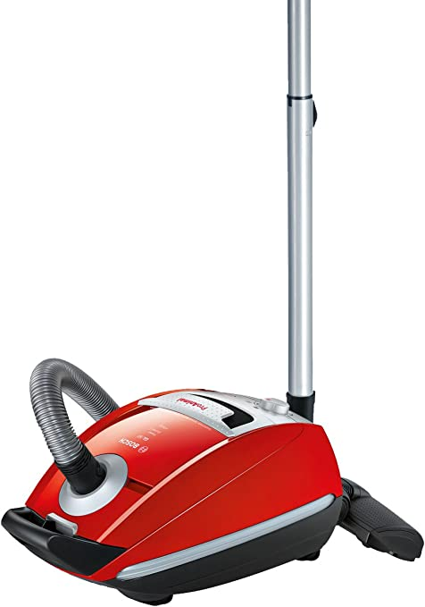 Bosch BSGL5PT2GB Power Animal Two Bagged Vacuum Cleaner 4.5 L, Red