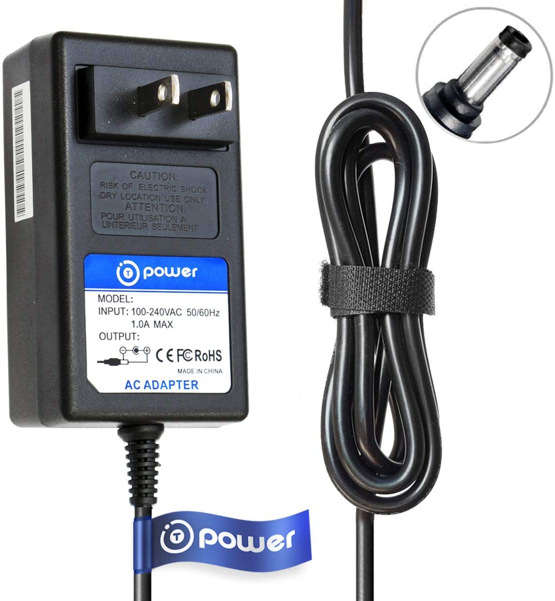 T POWER 19V Ac Dc Adapter Charger Compatible with Philips Lumea Prestige IPL Hair Removal Device BRI950 BRI951 BRI952 BRI953 BRI954 BRI956 BRI959 Power Supply Cord