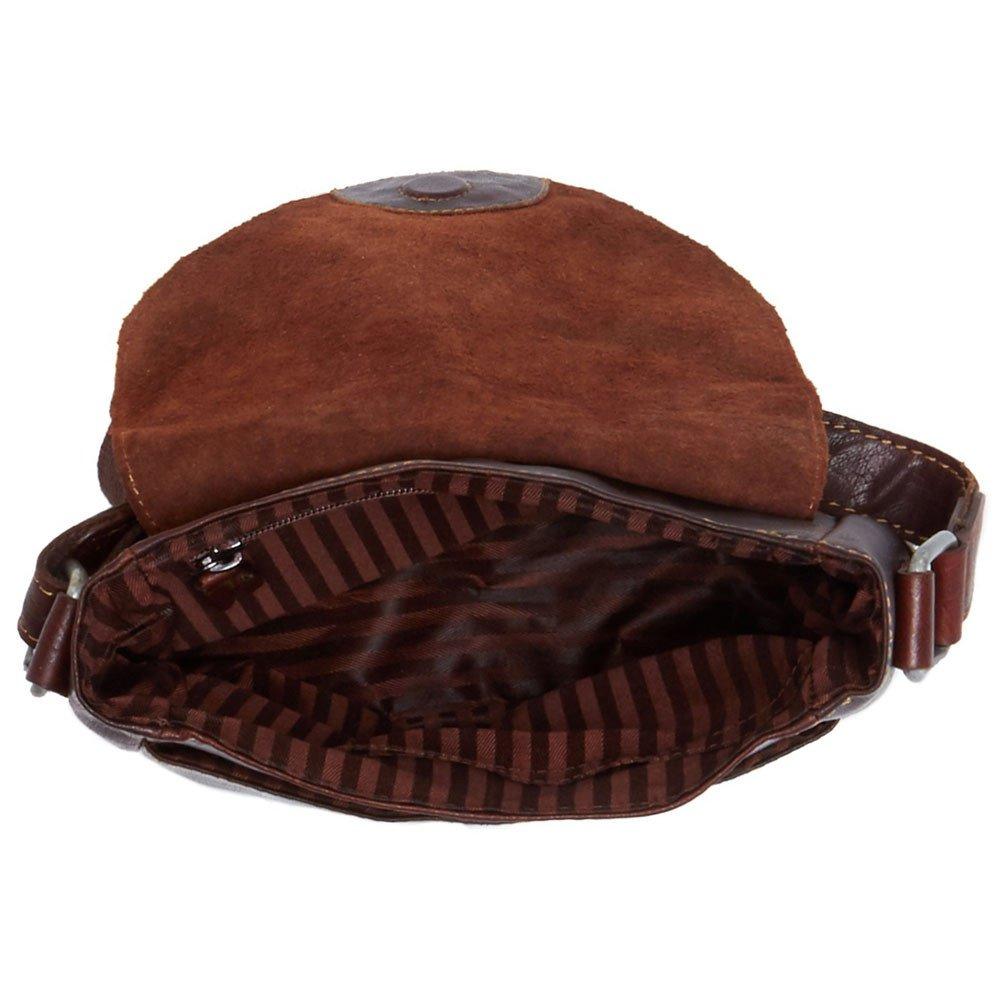 Jack Georges Voyager Horseshoe Crossbody Bag, Leather Shoulder Bag in Brown by Jack Georges (Image #4)
