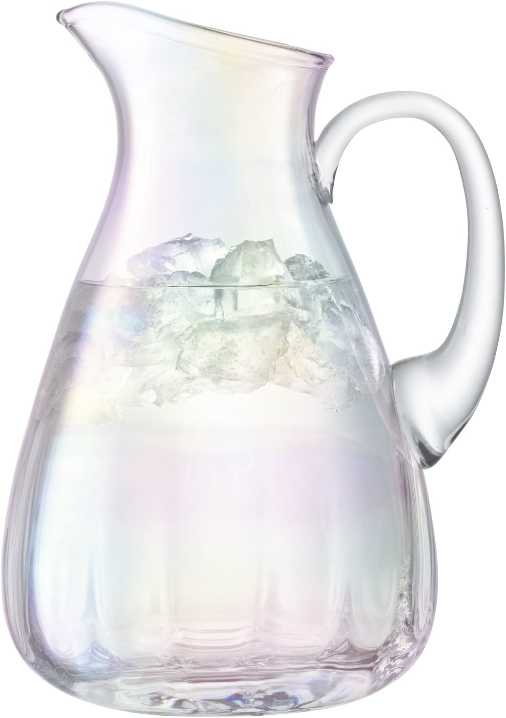 Amazon Com Lsa International Water Jug 74 4 Fl Oz Mother Of Pearl Carafes Pitchers