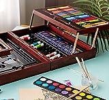 Dream Art Premium Wooden Case Coloring Set n Books